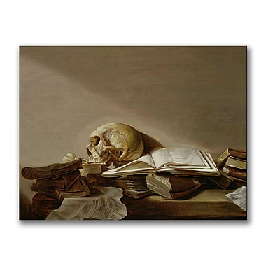 Trademark Fine Art Jan Davidsz. de Heem 'Vanitas' Canvas Art