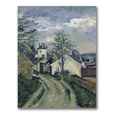 Trademark Fine Art Paul Cezanne 'The House of Doctor Gachet' Canvas Art 18x24 Inches