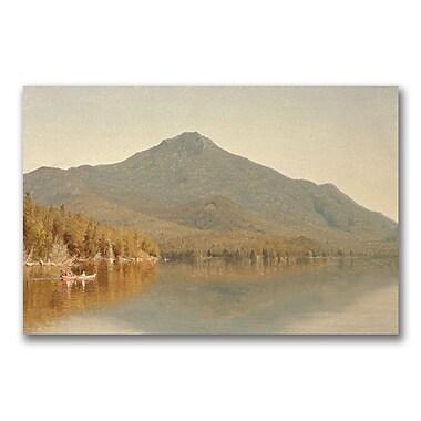 Trademark Fine Art Sanford Gifford 'Mount Whitface' Canvas