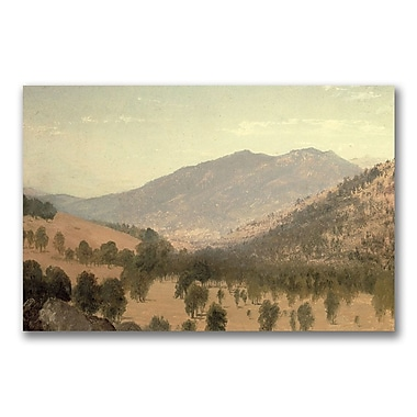 Trademark Fine Art John Kensett 'Bergen Park Colorado' Canvas Art 16x24 Inches