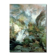 Trademark Fine Art Thomas Moran 'Children of the Mountain' Canvas Art