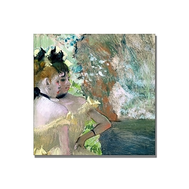Trademark Fine Art Edgar Degas 'Dancers in the Wings' Canvas Art