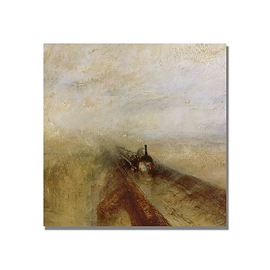 Trademark Fine Art Joseph Turner 'Rain Steam and Speed' Canvas Art