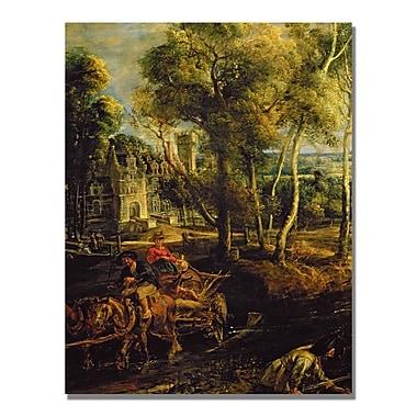 Trademark Fine Art Peter Rubens 'An Autumn Landscape' Canvas Art