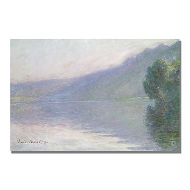 Trademark Fine Art Claude Monet 'The Seine at Port Villez 1894' Canvas Art