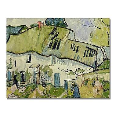 Trademark Fine Art Vincent Van Gogh 'The Farm in Summer' Canvas Art
