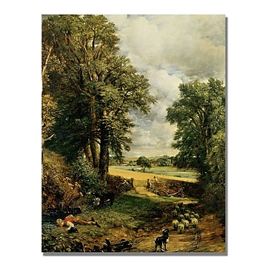 Trademark Fine Art John Constable 'The Cornfield' Canvas Art