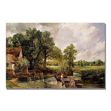 Trademark Fine Art John Constable 'The Hay Wain' Canvas Art 22x32 Inches