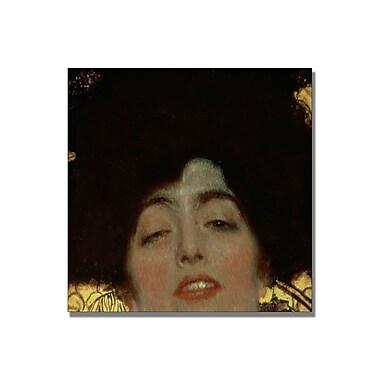 Trademark Fine Art Gustav Klimt 'Judith' Canvas Art