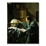 Trademark Fine Art Jan Vermeer 'The Astronomer' Canvas Art
