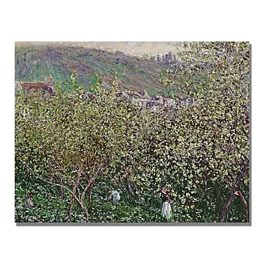 Trademark Fine Art Claude Monet 'Fruit Pickers' Canvas Art