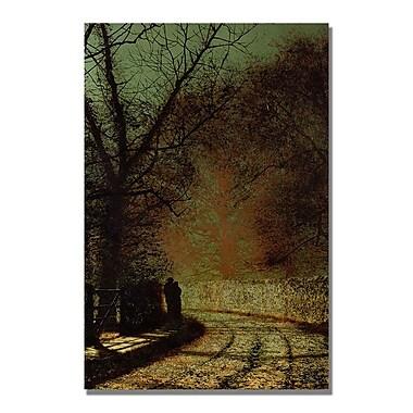 Trademark Fine Art John Grimshaw 'The Lovers' Canvas Art
