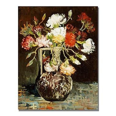 Trademark Fine Art Vincent Van Gogh 'Bouquet of Flowers II' Canvas Art
