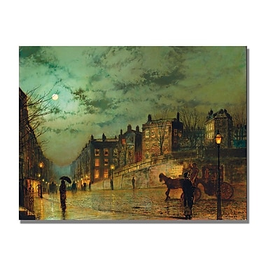 Trademark Fine Art John Grimshaw 'Hampstead Hill' Canvas Art