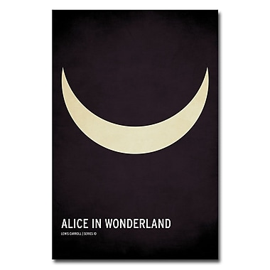 Trademark Fine Art Christian Jackson 'Alice in Wonderland' Canvas Art 24x36 Inches