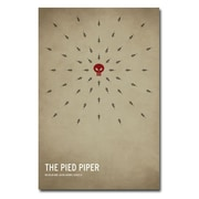 Trademark Fine Art Christian Jackson 'The Pied Piper' Canvas Art 22x32 Inches