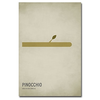 Trademark Fine Art Christian Jackson 'Pinocchio' Canvas Art 22x32 Inches