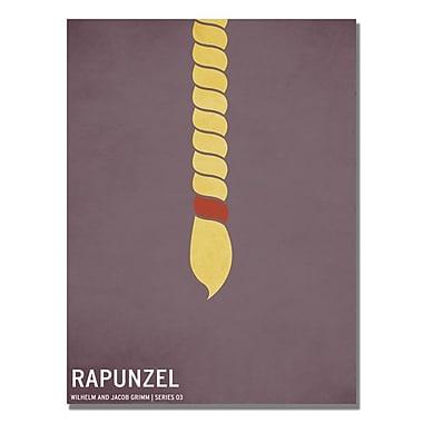 Trademark Fine Art Christian Jackson 'Rapunzel' Canvas Art 22x32 Inches