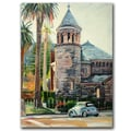 Trademark Fine Art Chappel by Colleen Proppe Canvas Ready to Hang