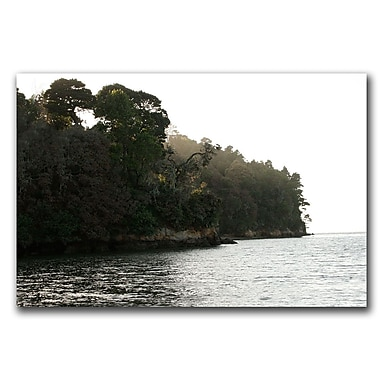 Trademark Fine Art Solitude at Shell Beach by Colleen Proppe Canvas Art