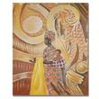 Trademark Fine Art Djibrirou Kane 'Caring and Dedicated Mom' Canvas Art