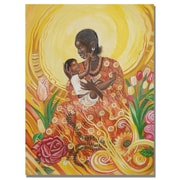 Trademark Fine Art Djibrirou Kane 'Expressions of Affection' Canvas Art