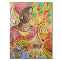 Trademark Fine Art Djibrirou Kane 'Fulani Beauty' Canvas Art