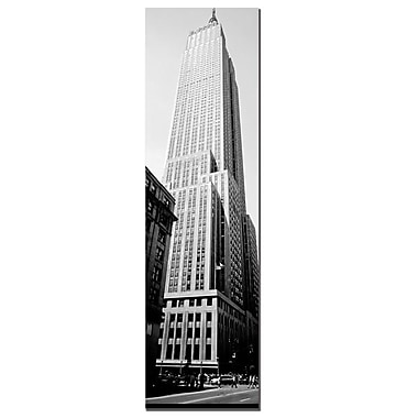 Trademark Fine Art New York by Preston-Ready to Hang Art 16x48 Inches