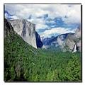 Trademark Fine Art Yosemite III by Preston-Ready to Hang Art 35x35 Inches