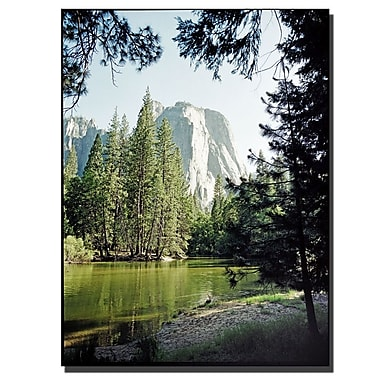 Trademark Fine Art Yosemite IV by Preston-Ready to Hang Art 35x35 Inches