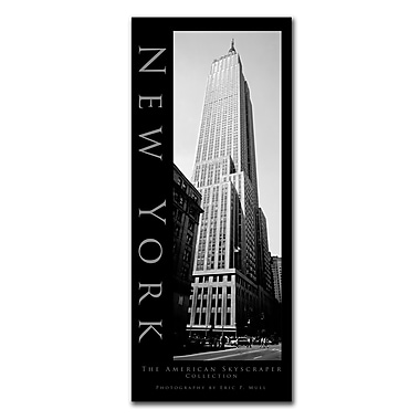 Trademark Fine Art New York by Preston-Ready to Hang Art 10x24 Inches