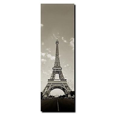 Trademark Fine Art Tour de Eifel by Preston-Gallery Wrapped Canvas Art