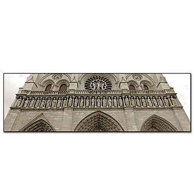 Trademark Fine Art Preston 'Notre Dame' Canvas Art 8x24 Inches