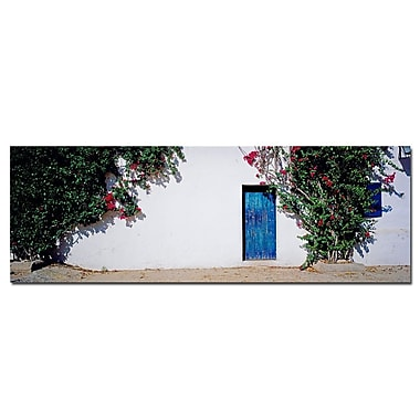 Trademark Fine Art La Puerta Azul Spain by Prestonl Canvas Art