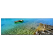Trademark Fine Art Bermuda Boat by Preston-Ready to Hang Art 10x32 Inches