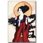 Trademark Fine Art Garner Lewis 'Japanese Woman' Canvas Art