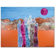 Trademark Fine Art The Valley of Unity by Garner Lewis-Canvas Ready to Hang