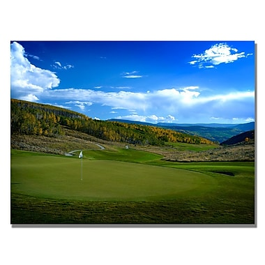 Trademark Fine Art From the Green to the Fairway Canvas Golf Art