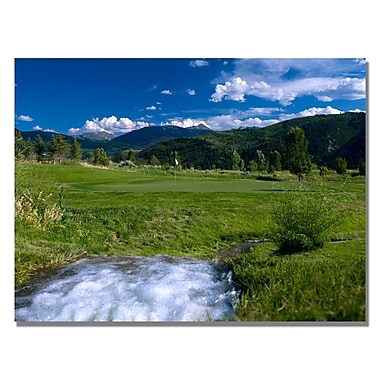 Trademark Fine Art River Greens Canvas Golf Art