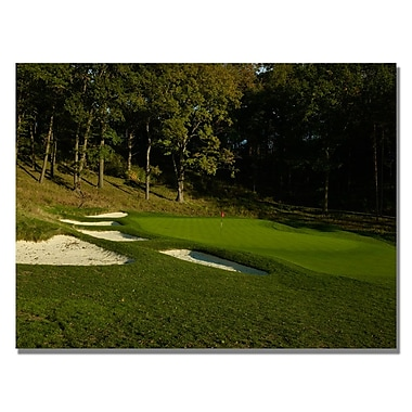 Trademark Fine Art Sandtrapped Canvas Golf Art