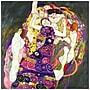Trademark Fine Art Virgins by Gustav Klimt-Canvas Art