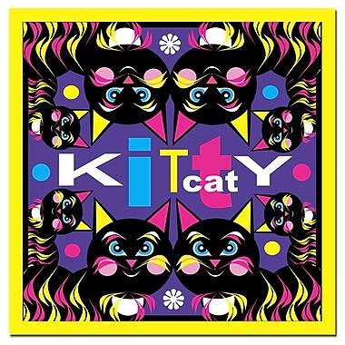 Trademark Fine Art Grace Riley 'Kitty Cat' Canvas Art