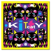 Trademark Fine Art Grace Riley 'Kitty Cat' Canvas Art