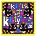 Trademark Fine Art Grace Riley 'Kitty Cat II' Canvas Art