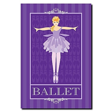 Trademark Fine Art Grace Riley 'Ballet I' Canvas Art 22x32 Inches