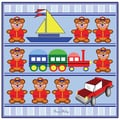 Trademark Fine Art Toy Shelf by Grace Riley-Canvas Art Ready to Hang