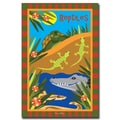 Trademark Fine Art Reptiles by Grace Riley-Gallery Wrapped Canvas Art