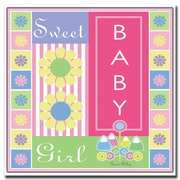 Trademark Fine Art Sweet Baby Girl by Grace Riley-Canvas Art 24x24 Inches