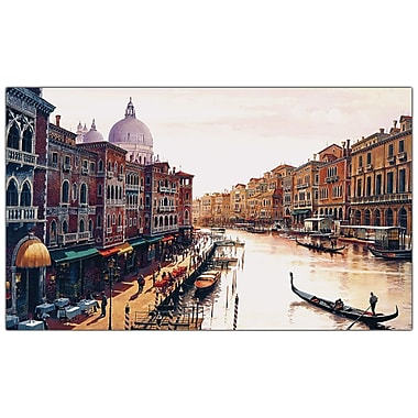 Trademark Fine Art Venice by Hava-Ready to Hang Canvas Art 16x32 Inches