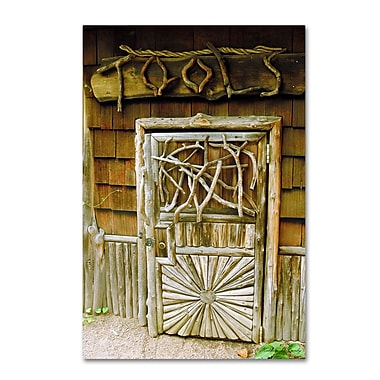 Trademark Fine Art Kathie McCurdy 'Tool Shed' Canvas Art